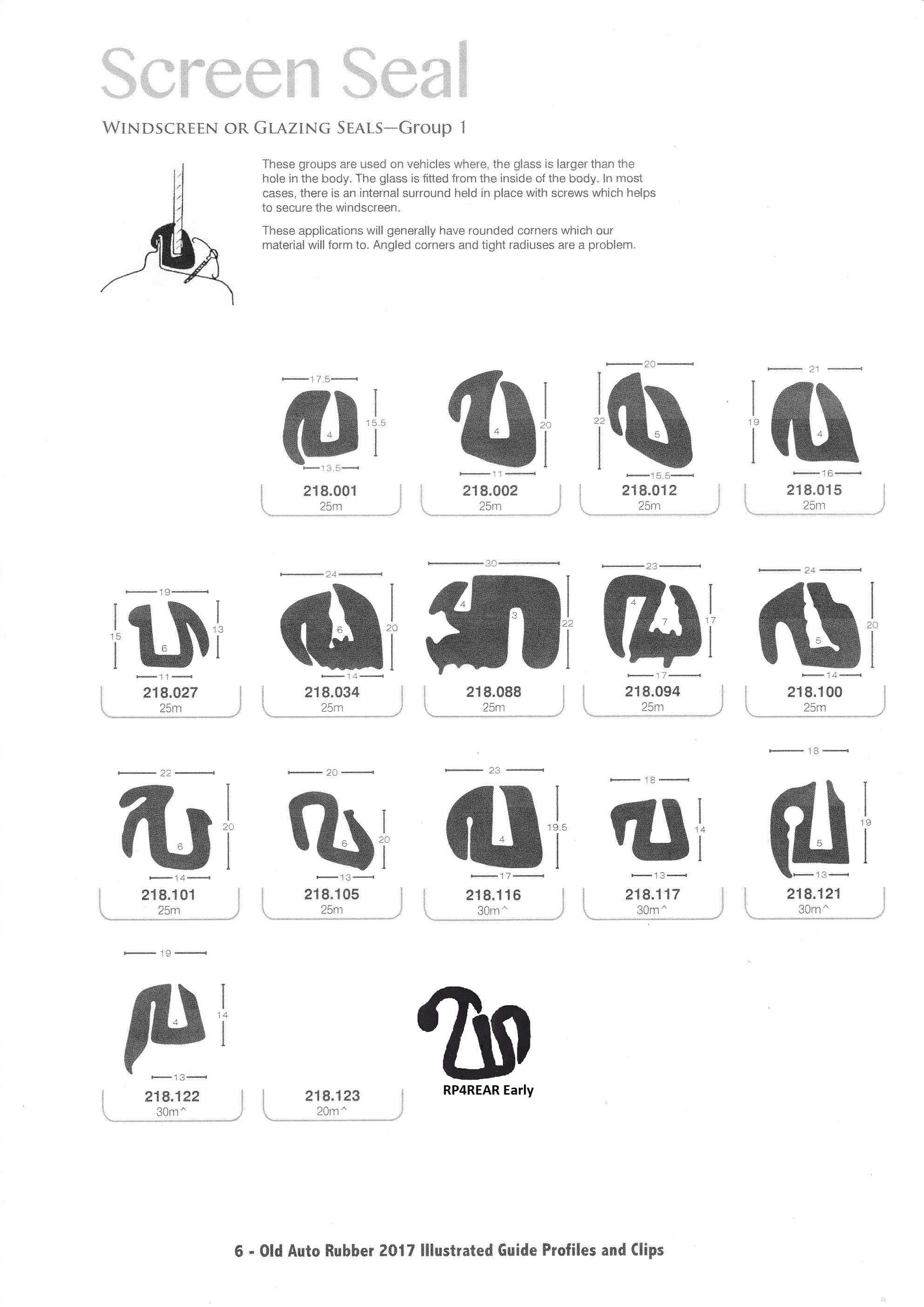 Scott Old Auto Rubber Catalogue