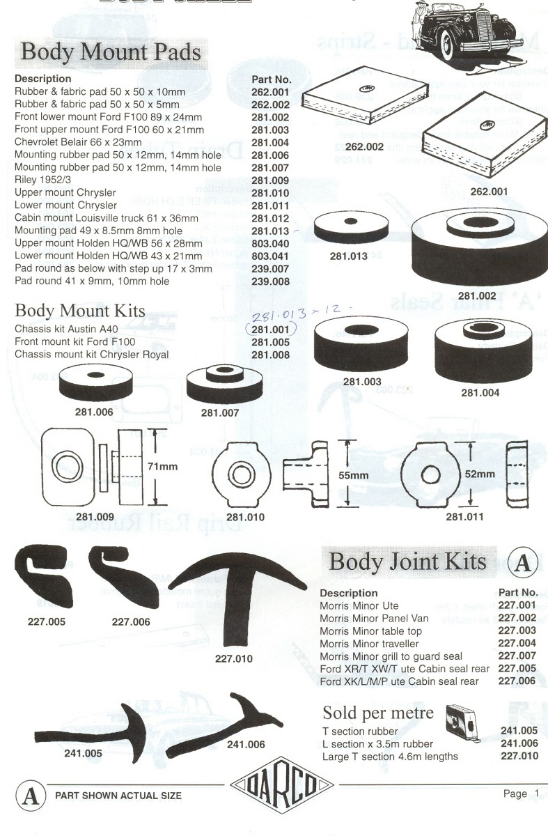 scott u0026 39  old auto rubber catalogue