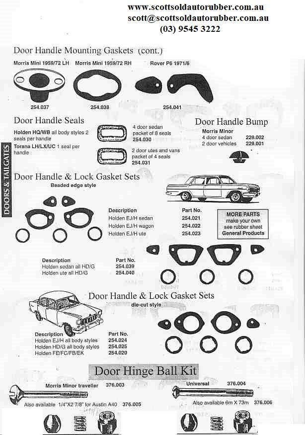 scott u0026 39  old auto rubber catalogue